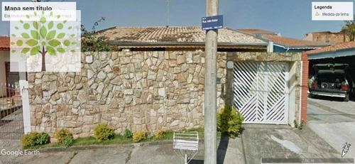 Casa Com 3 Dormitórios À Venda, 140 M² Por R$ 318.100,00 - Dic Vi (conjunto Habitacional Santo Dias Silva) - Campinas/sp - Ca0010