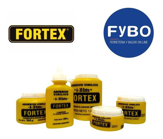 Adhesivo Vinilico / Cola Vinilica Fortex A-20 Envase 1 Kg