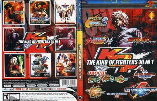 Coleção The King Of Fighters Para Play Station 2