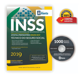 Apostila Inss 2019 - Técnico Do Seguro Social ( Atualizada )