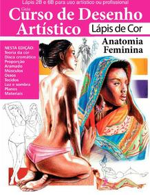 Guia Curso De Desenho - Lápis De Cor - Anatomia Feminina 01