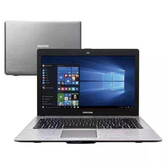 Notebook Positivo Intel Dual Core 2gb Hd 500gb - Novo