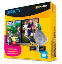 Kit Prepago Direct Tv Antena De 46 Cm.