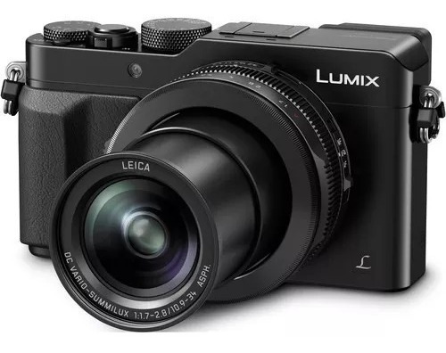 Panasonic Lx100 Cámara 12,8mp 24-75mm F1.7-2.8 4k * Usd800