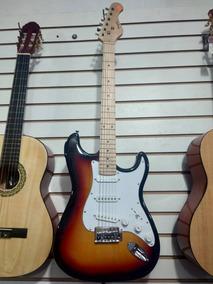 Kit Combo Guitarra Electrica Mayer C/afinador Y Amplificador