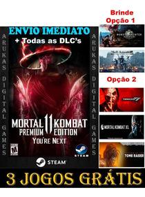 Off- Mortal Kombat 11 Premium Edition Pc Original Steam
