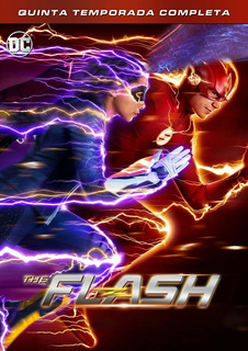 The Flash Serie - Temporada 5 Completa Dvd (2018 - 2019)