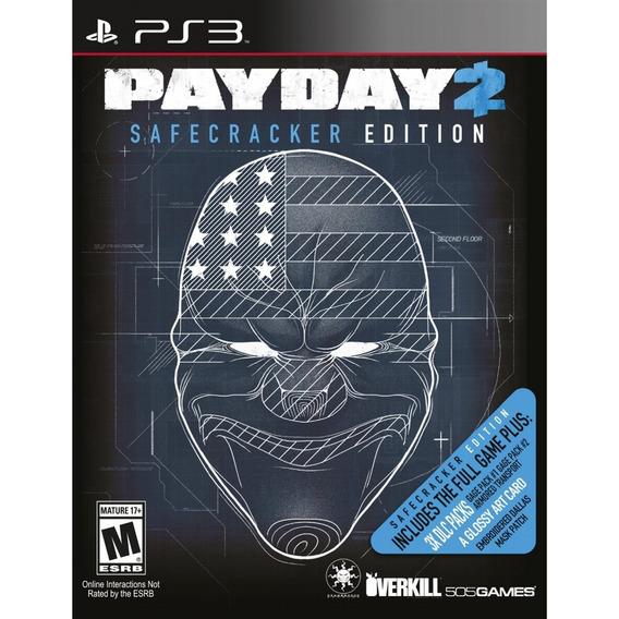 Payday 2: Safecracker - Ps3 Lacrado