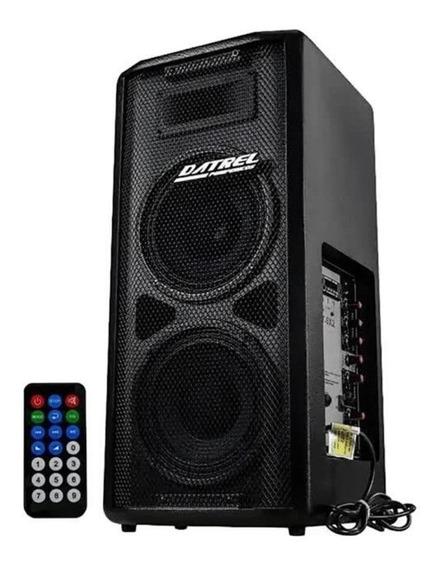 Caixa De Som Amplificada Multiuso Com Bluetooth Guitarra Mic