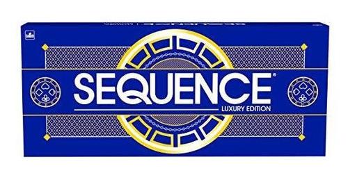 Sequence Luxury Edition - Impresionante Juego Con Alfombril