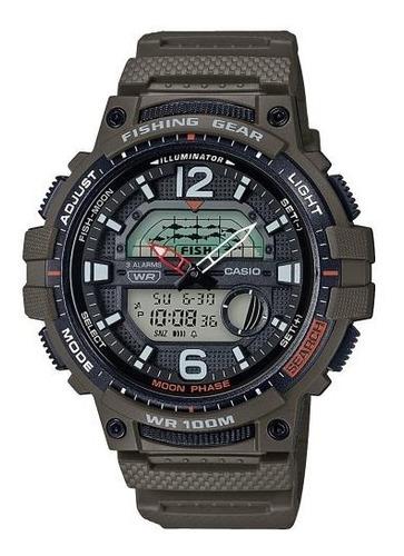 Reloj Casio Wsc-1250h-3a Fishing Gear Casio Shop Oficial