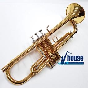 Trompete Yamaha Ytr8330 Dst Custom Gatilho Mecanico