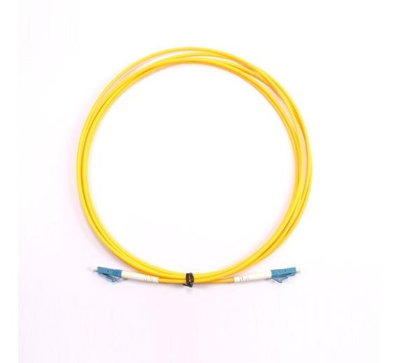 Cordão Fibra Óptica Lc/pc - Lc/apc Varios Tamanhos