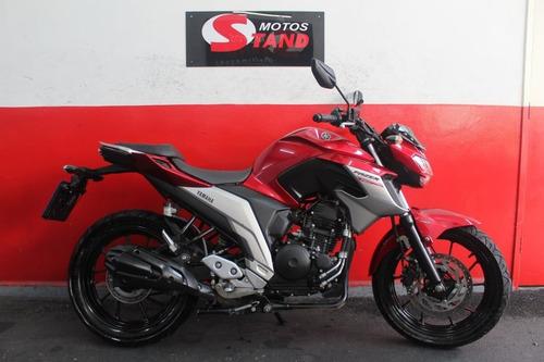 Imagem 1 de 11 de Yamaha Fazer 250 Abs Fz25 2020 Vermelha Vermelho