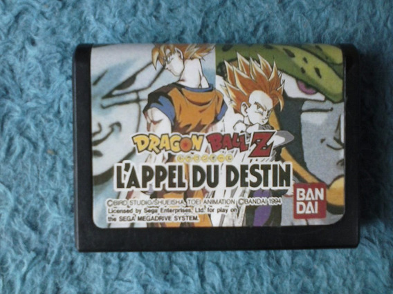 Mega Drive - Dragon Ball Z - Japonês - Case Padrão Japonesa