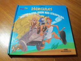 Livro Interativo Hércules - Muito Ajuda Quem Não Atrapalha