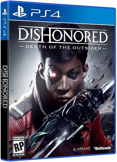 Jogo Dishonored: Death Of The Outsider - Ps4 - Frete Grátis