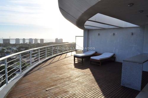 Penthouse 3 Dormitorios, Toree 360, Roosevelt, Punta Del Este -ref:1189