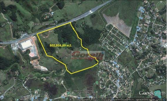 Área À Venda, 805000 M² Por R$ 70.000.000,00 - Nova Dutra - Santa Isabel/sp - Ar0049