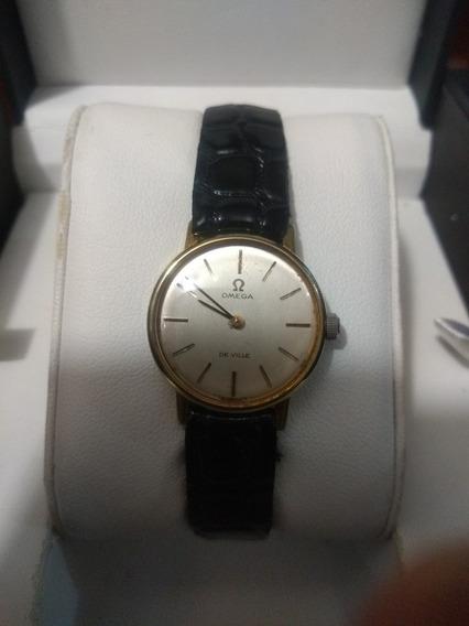 Reloj Omega De Ville,de Dama, Cuerda Original