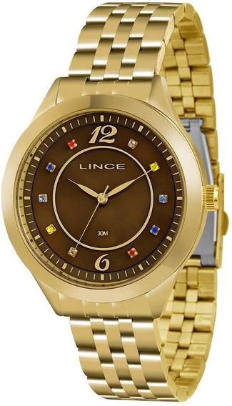Relógio Feminino Lince Casual Lrg4324lm2kx