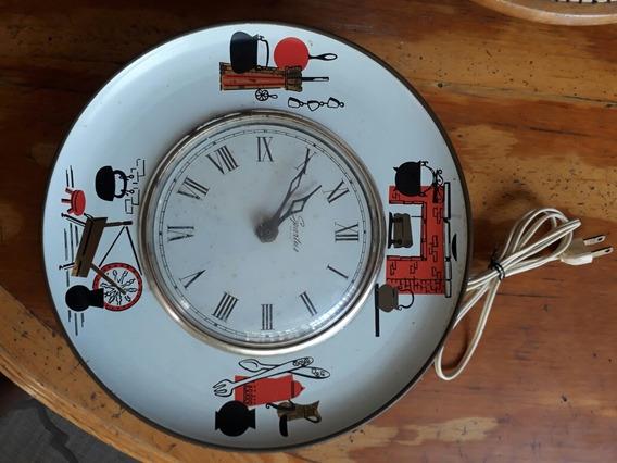 Spartus Corp. Antiguo Reloj Eléctrico De Pared Para Cocina
