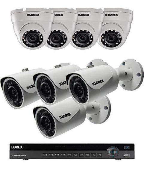 Lorex 16 Channel 4k Nvr 8 Ip Camara Seguridad Sistema Nr91 ®