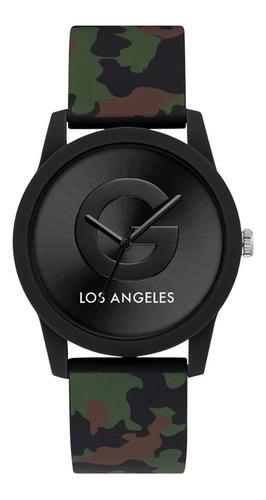 Reloj G By Guess G Craze Dama G59042l3 Verde Militar