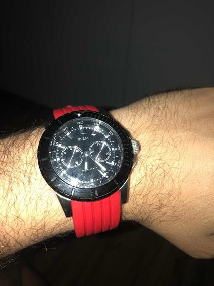 Relógio Guess Vermelho