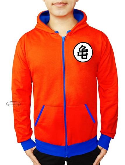 Talla Grande Sudadera Chamarra Dragon Ball Goku Moda Super