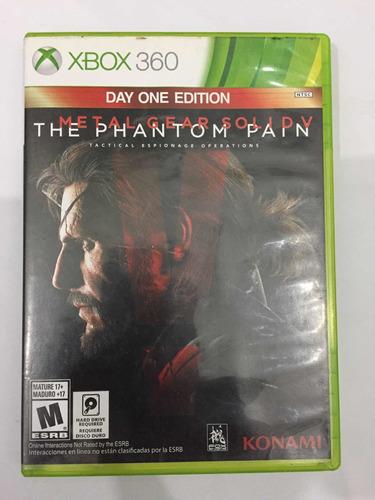 Imagen 1 de 1 de Metal Gear Solid 5 The Phantom Pain Xbox360