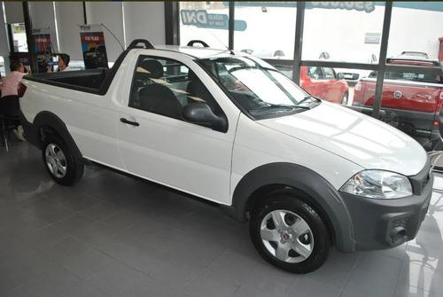 Nueva Fiat Strada 0km 2021- Anticipo De 200mil Y Cuotas! - L
