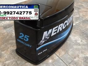 Capo Motor De Popa Mercury Seapro 25 Hp Seapro Sedex A Cobra