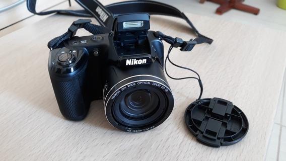 **câmera Semi-profissional Nikon L320 + Acessórios**