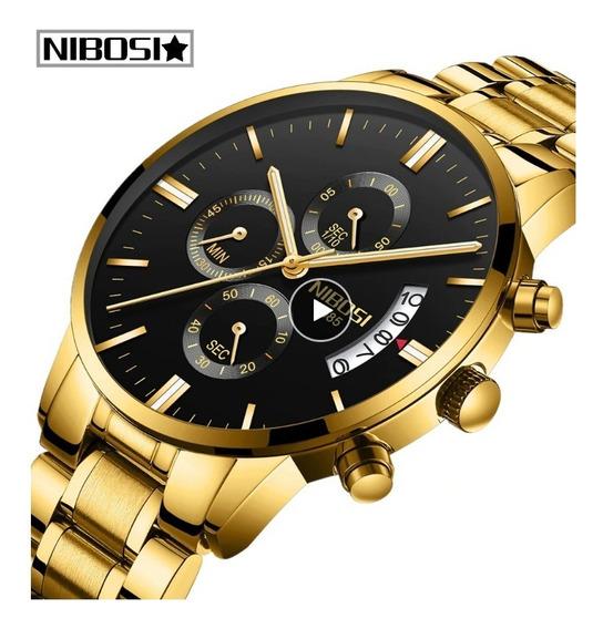 Relógio Nibosi 2309 Original Promoção Ótima Pronta Entrega