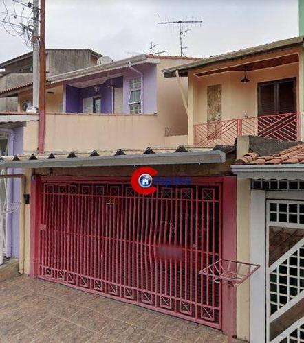 Imagem 1 de 7 de Sobrado Com 3 Dormitórios À Venda, 125 M² Por R$ 550.000 - Jardim Santa Clara - Guarulhos/sp - So2247
