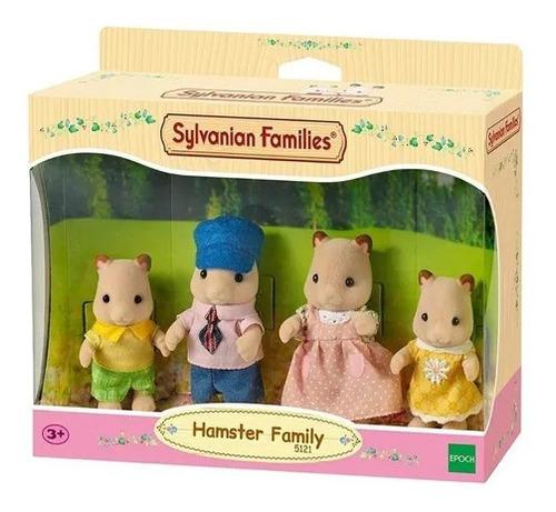Sylvanian Families Familia De Hamster 5121