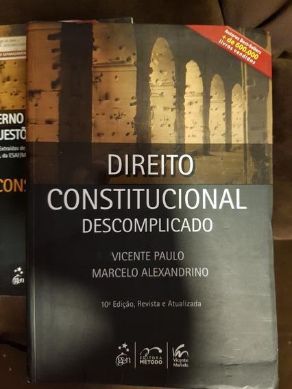 Direito Constitucional Descomplicado Vicente Paulo M. Alexan