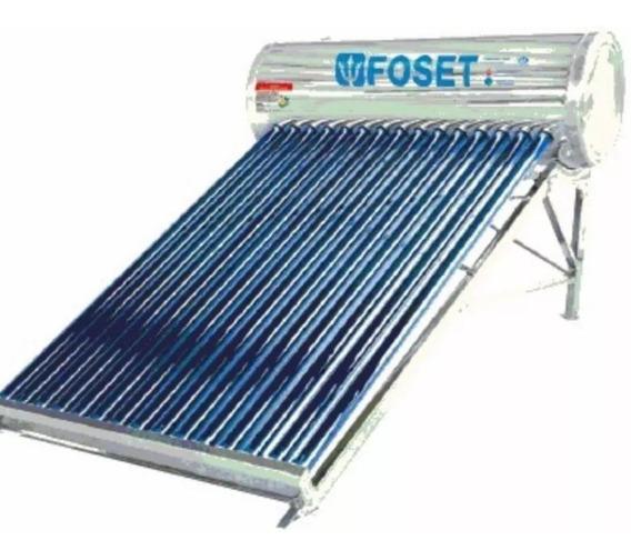 Calentador Solar De 15 Tubos Foset 45272
