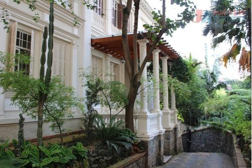 Casa Comercial Para Locação, Higienópolis, São Paulo - Ca0683. - Ca0683