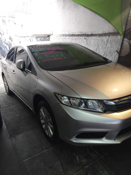 Honda Civic 1.8 Lxs Flex Aut. 4p 2012