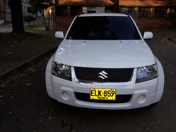 Grand Vitara, Modelo 2008, Motor 2000, 4x2, Color Blanco.