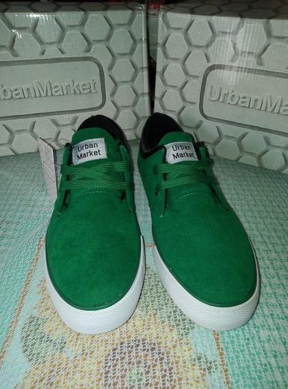 Zapatos 40 - 40,5 Y 42,5 Tipo Canvas Marca Urbanmarket