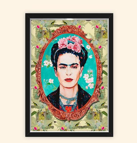 Quadro Caixa 23x33cm Frida Espelho