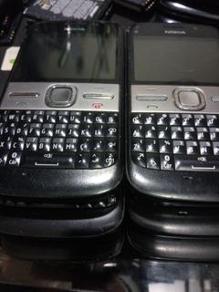 Lote 6 Celulares Nokia E5 3/19