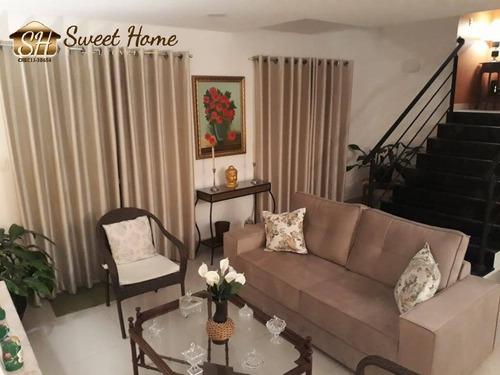 Imagem 1 de 15 de Linda Casa No Condomínio Tarumã Ótima Oportunidade. - Sh21176