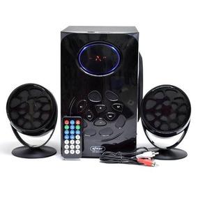 Amplificador De Som Subwoofer Bluetooth 2.1 Kp-6024bh