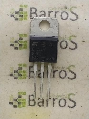 Bta16-600 Tiristor Triac 16a 600v Bta16-600b