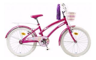 Bicicleta Infantil Olmo Tiny Dancers Nenas Rodado 20