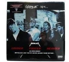 Metallica Garage Inc Box Lp 6vinilos180grs.en Celofan Unico!